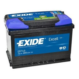 Baterie Exide Excell 74Ah