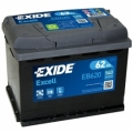 Baterie EXIDE Excell 62AH