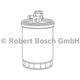 Filtru combustibil Bosch 1457434437