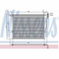 Radiator AC NISSENS 94431