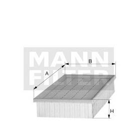 FILTRU AER MANN C31195