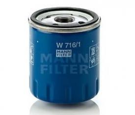 Filtru ulei MANN W716/1