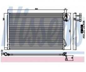 Radiator AC Nissens  94872