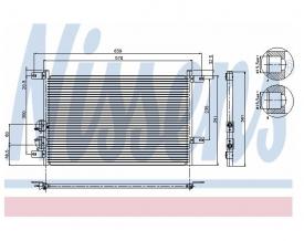 Radiator AC Nissens  94526