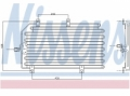 Radiator AC Nissens  94816