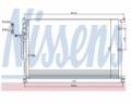 Radiator AC Nissens  94724