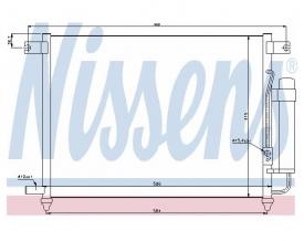 Radiator AC Nissens  94641
