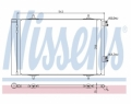 Radiator AC Nissens  940189