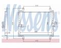 Radiator AC Nissens  94700