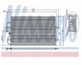 Radiator AC Nissens  94210