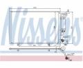 Radiator AC Nissens  940286