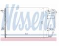 Radiator AC Nissens  94192