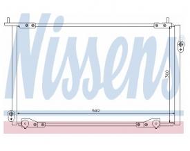 Radiator AC Nissens  94736