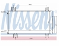 Radiator AC Nissens  940113