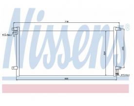 Radiator AC Nissens  94756