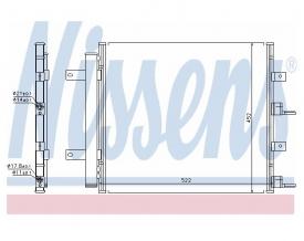 Radiator AC Nissens  940117