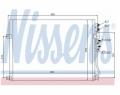 Radiator AC Nissens  94931