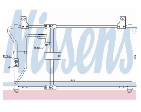 Radiator AC Nissens  94649