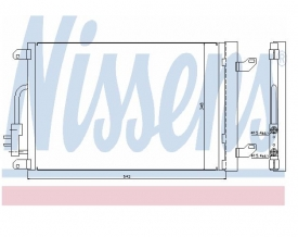 Radiator AC Nissens  940015