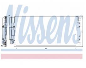 Radiator AC Nissens  94781