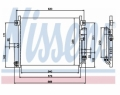 Radiator AC Nissens  94949