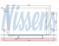 Radiator AC Nissens  940054