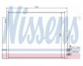 Radiator AC Nissens  940156
