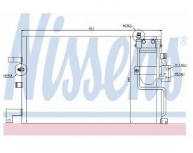 Radiator AC Nissens  94504
