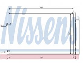 Radiator AC Nissens  940037
