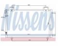 Radiator AC Nissens  94730