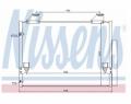 Radiator AC Nissens  940083