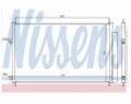 Radiator AC Nissens  940021