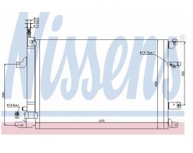 Radiator AC Nissens  940103