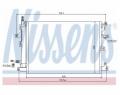 Radiator AC Nissens  940089