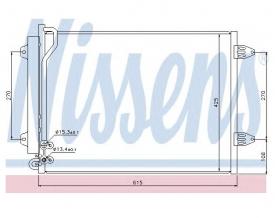 Radiator AC Nissens  94831