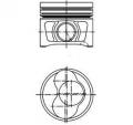 Piston motor Kolbenschmidt 40409600